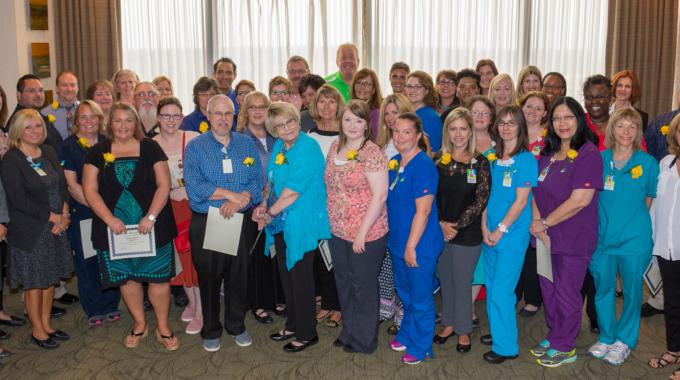 Ohio's Hospice Recognizes Staff Milestones