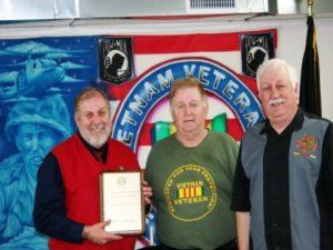 VVA Award with Kent