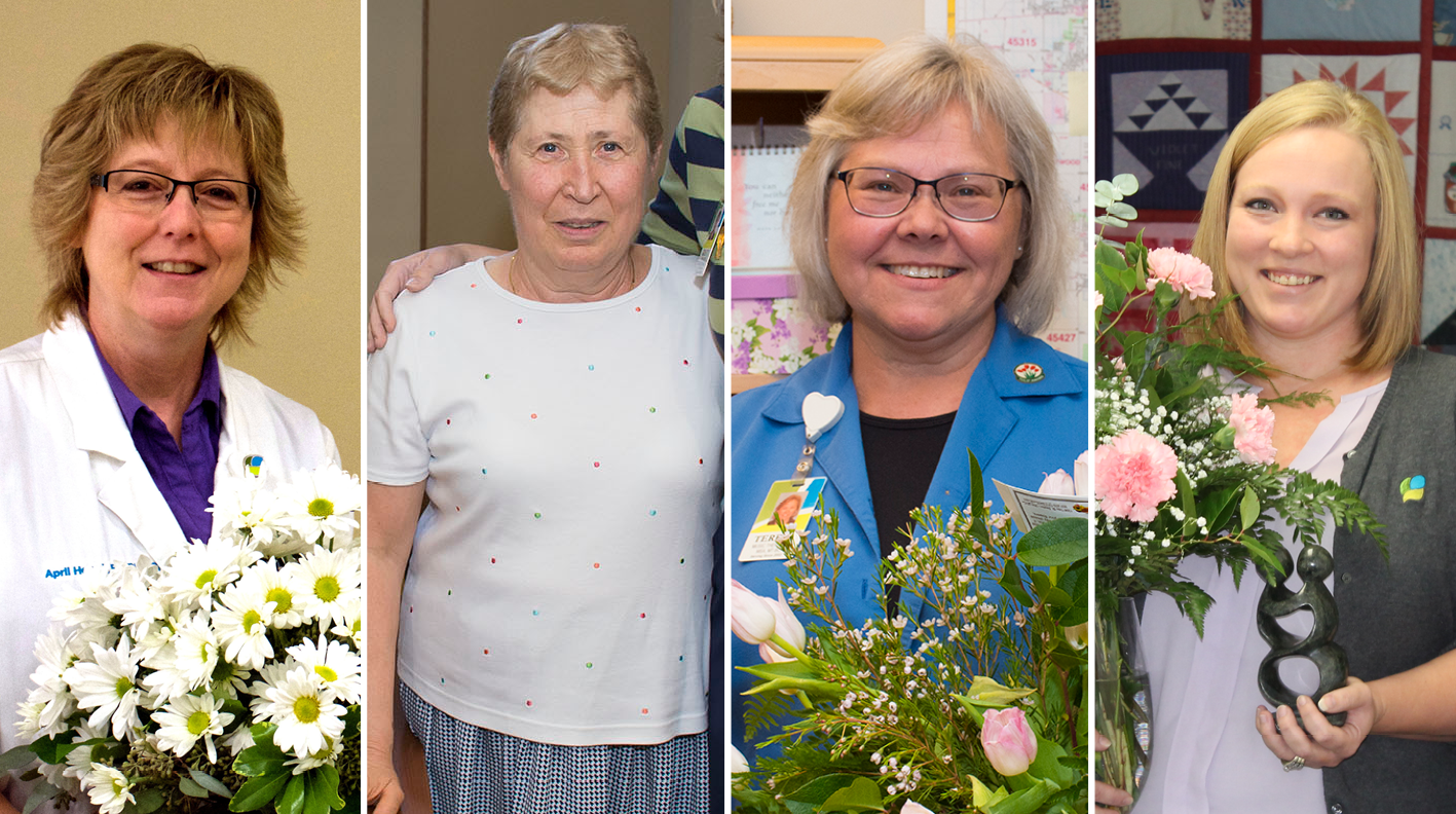 Bouquet Of Recognition Awards Honor Superior Care And Superior Services Of Staff Members