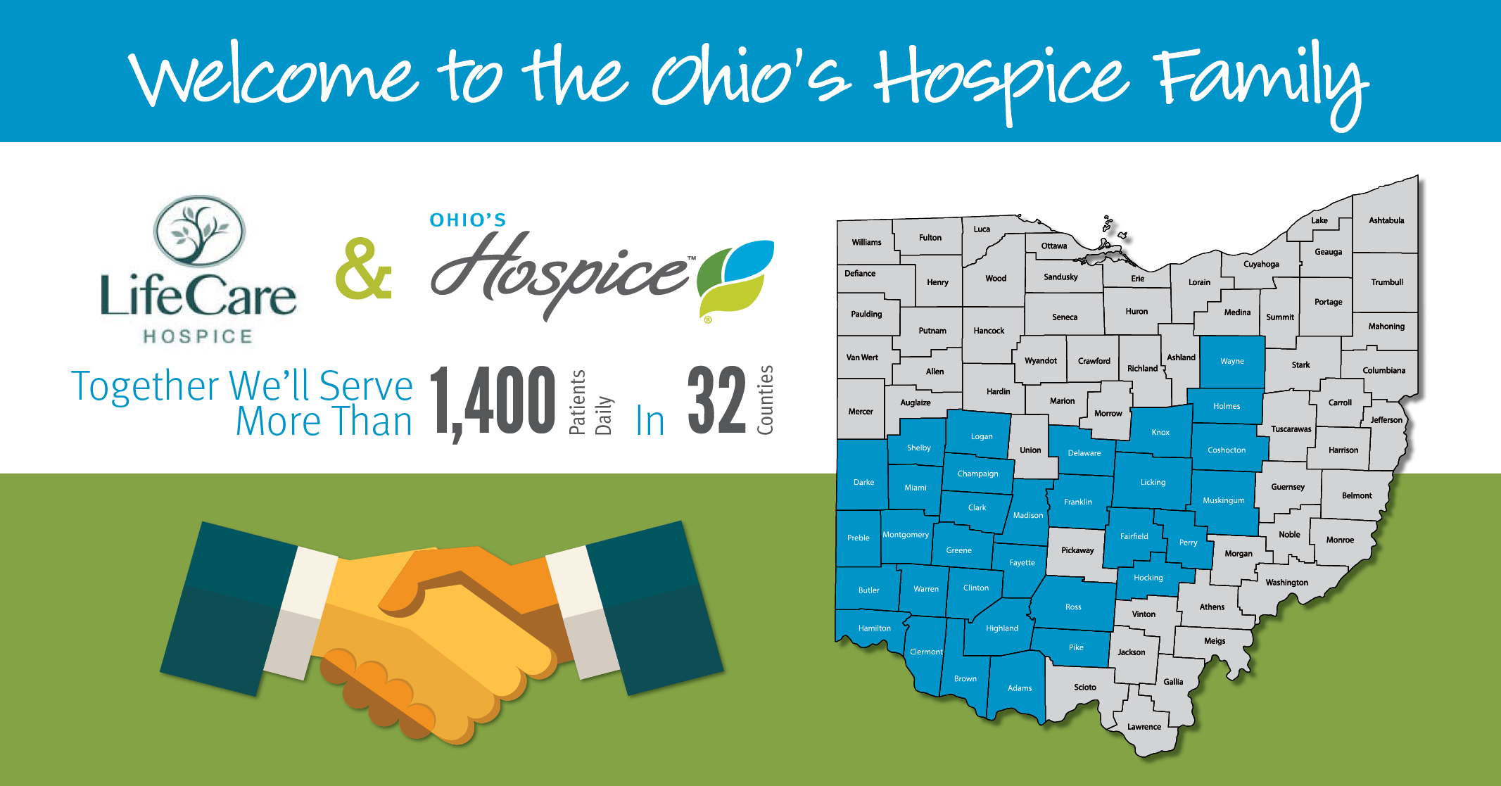 LifeCare Hospice Joins Ohio's Hospice Strategic Partnership