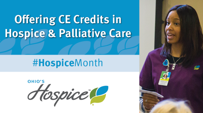 #HospiceMonth Free Educational Classes For Clinicians.