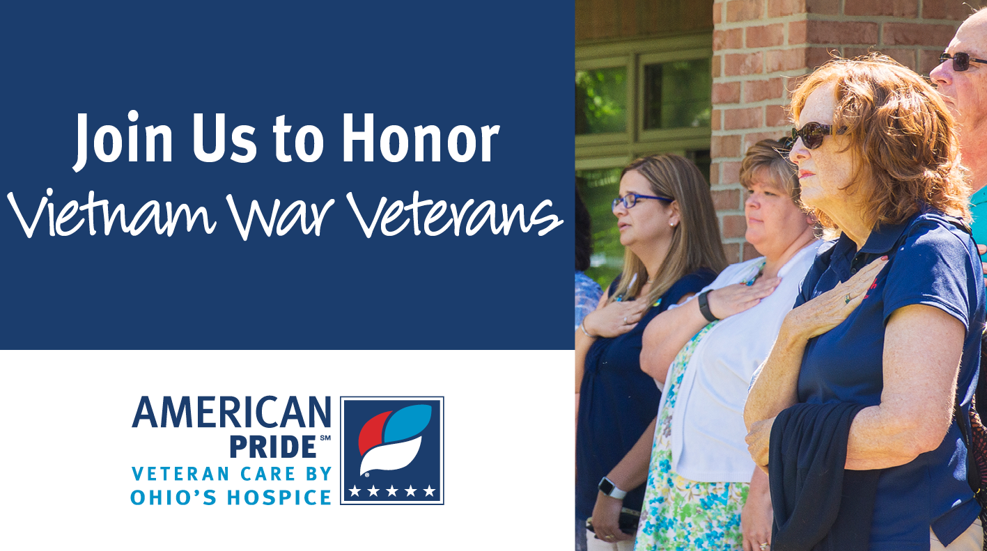 Ohio's HospiceWill Join In Honoring Vietnam Veterans On March 29