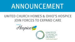 United Church Homes and Ohio's Hospice