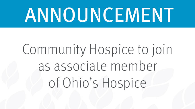 Ohio's Hospice Community Hospice Joins