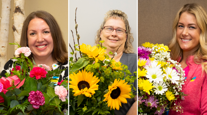 Ohio's Hospice Recognizes Staff With Bouquet Of Recognition Awards