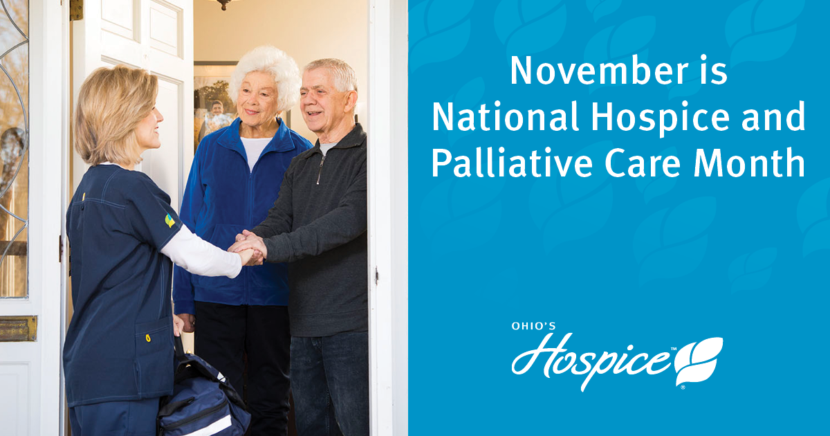 Ohio's Hospice Observes National Hospice And Palliative Care Month