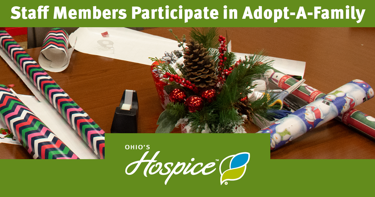 Ohio's Hospice Staff Members Bring Holiday Cheer To Families Through Adopt-A-Family