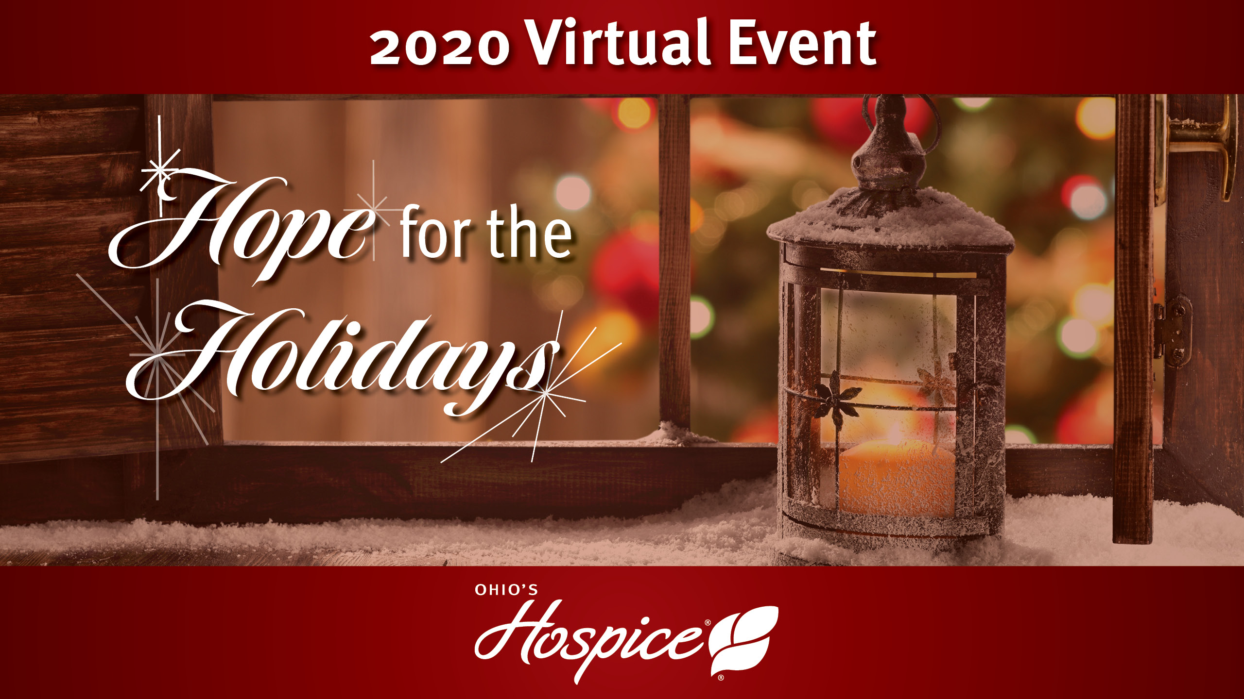 2020 Virtual Event - Hope For The Holidays