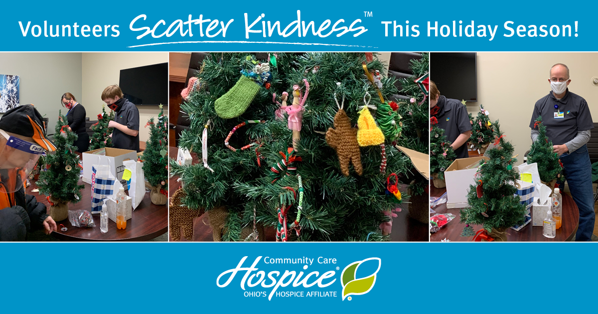 Volunteers Scatter Kindness And Holiday Joy To Community Care Hospice Patients And Families