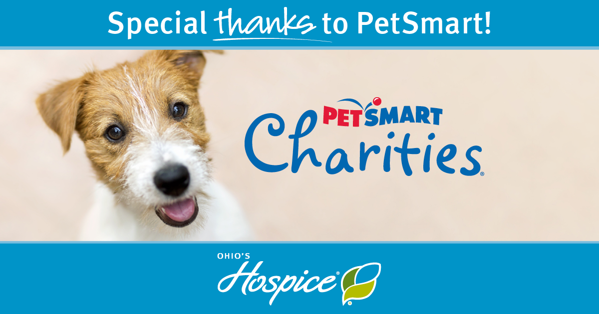PetSmart Charities® Awards Grant To Ohio's Hospice To Provide Support To Pets Of Patients