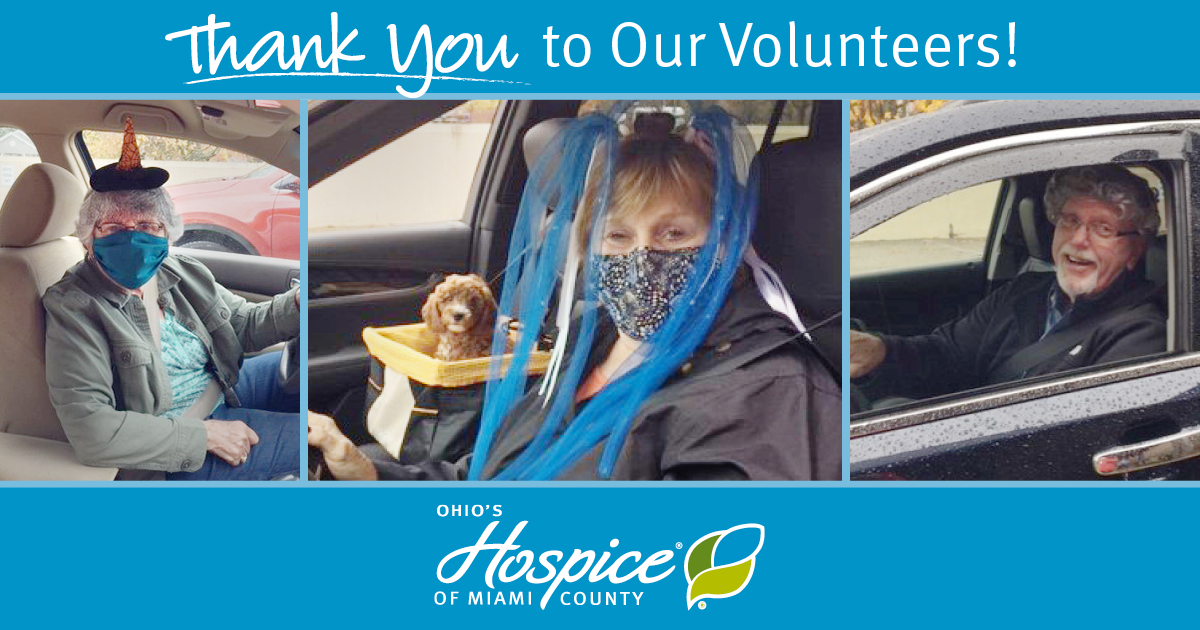 Thank You To Our Volunteers!