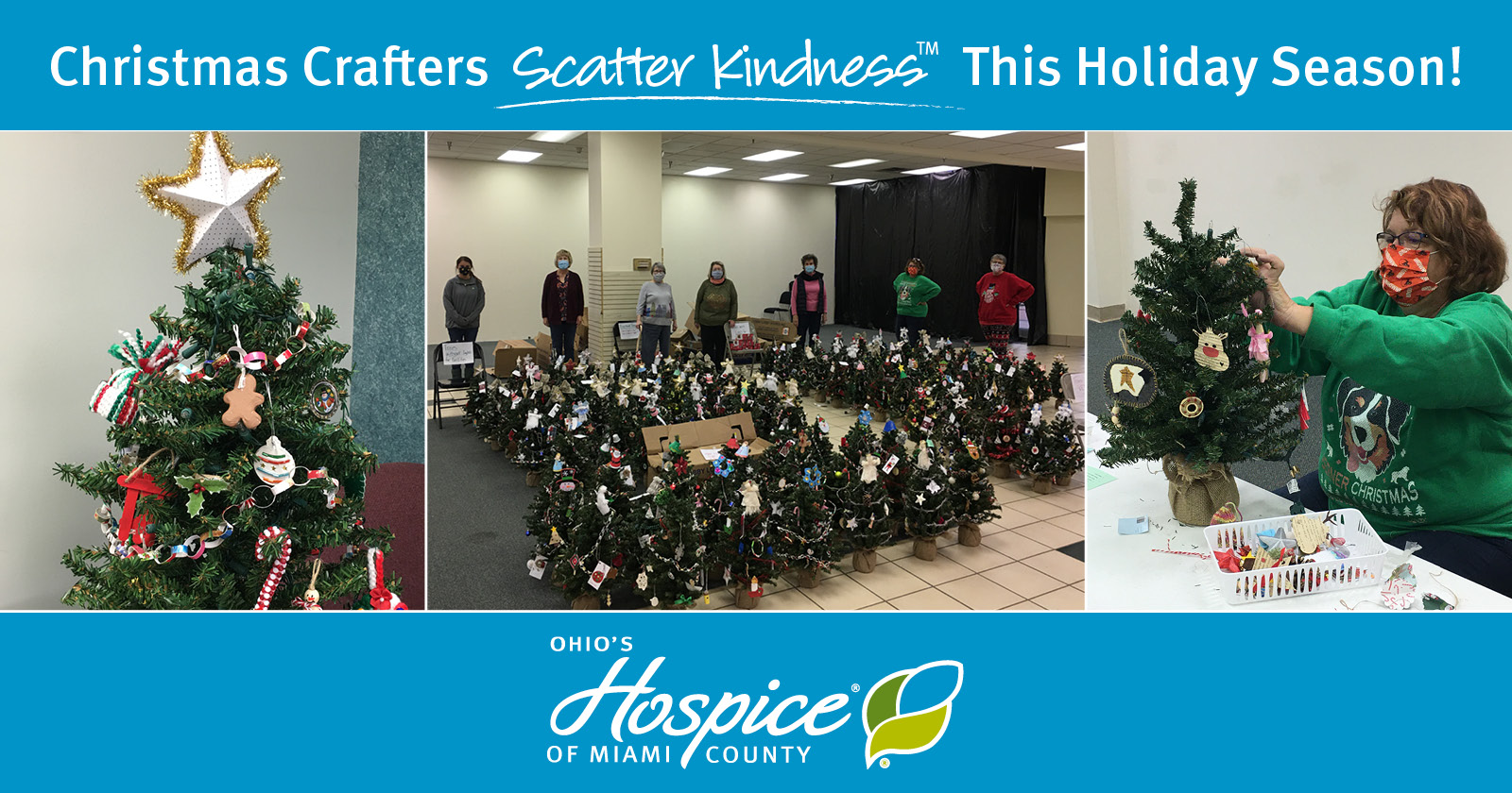 Christmas Crafters Scatter Kindness This Holiday Season! - Ohio's Hospice of Miami County