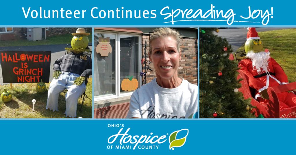 Volunteer Continues Spreading Joy!