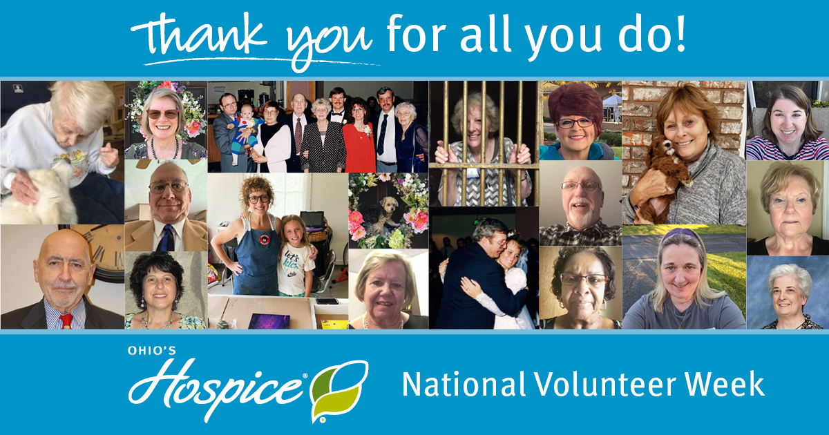Honoring Our Volunteers During National Volunteer Week