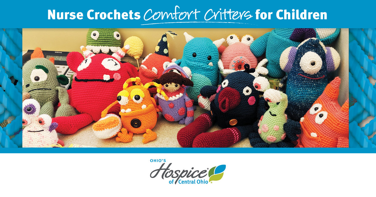 Nurse Crochets Comfort Critters For Children