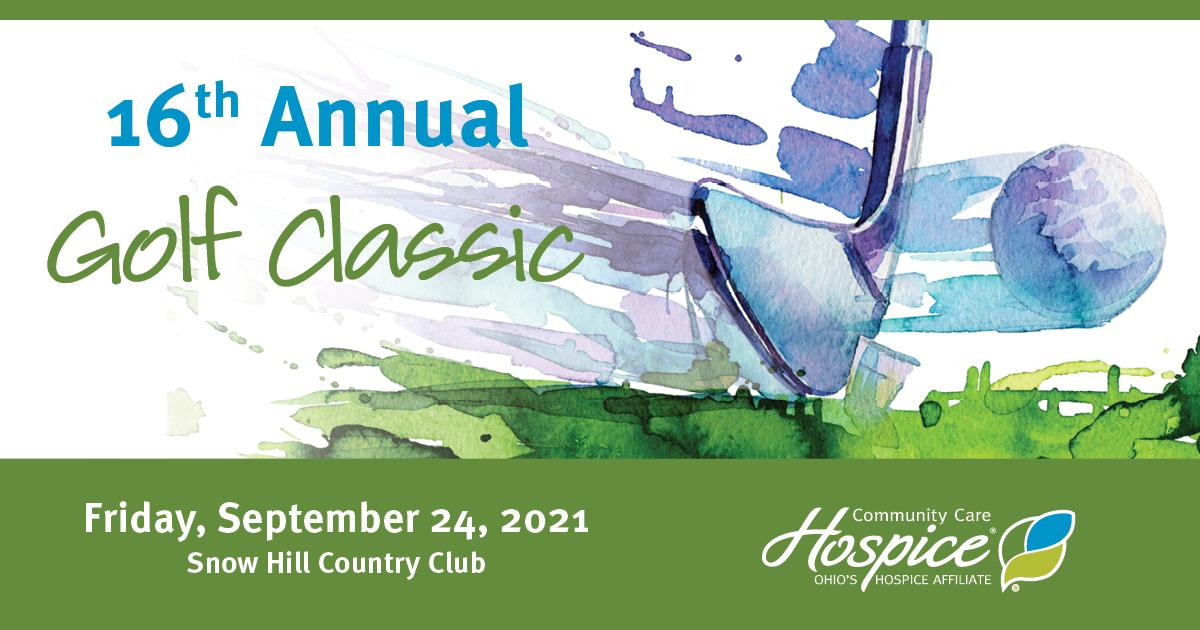16th Annual Golf Classic - Community Care Hospice