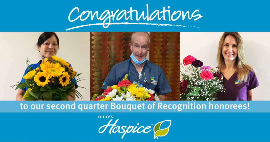 Congratulations to our second quarter Bouquet of Recognition honorees!