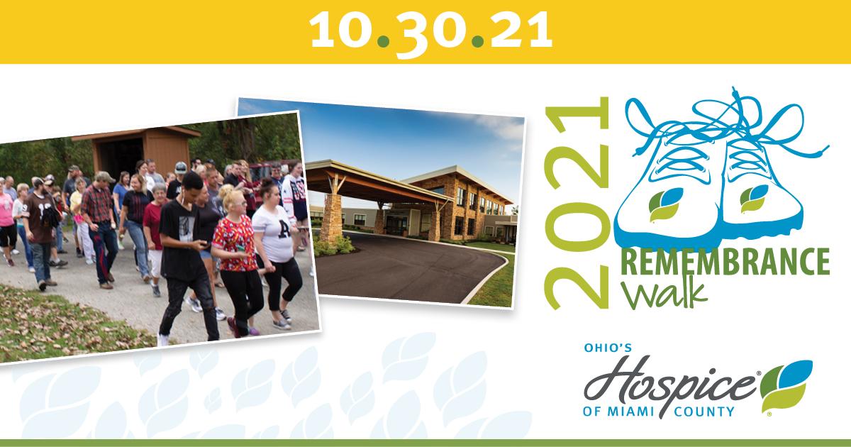 2021 Remembrance Walk - Ohio's Hospice Of Miami County