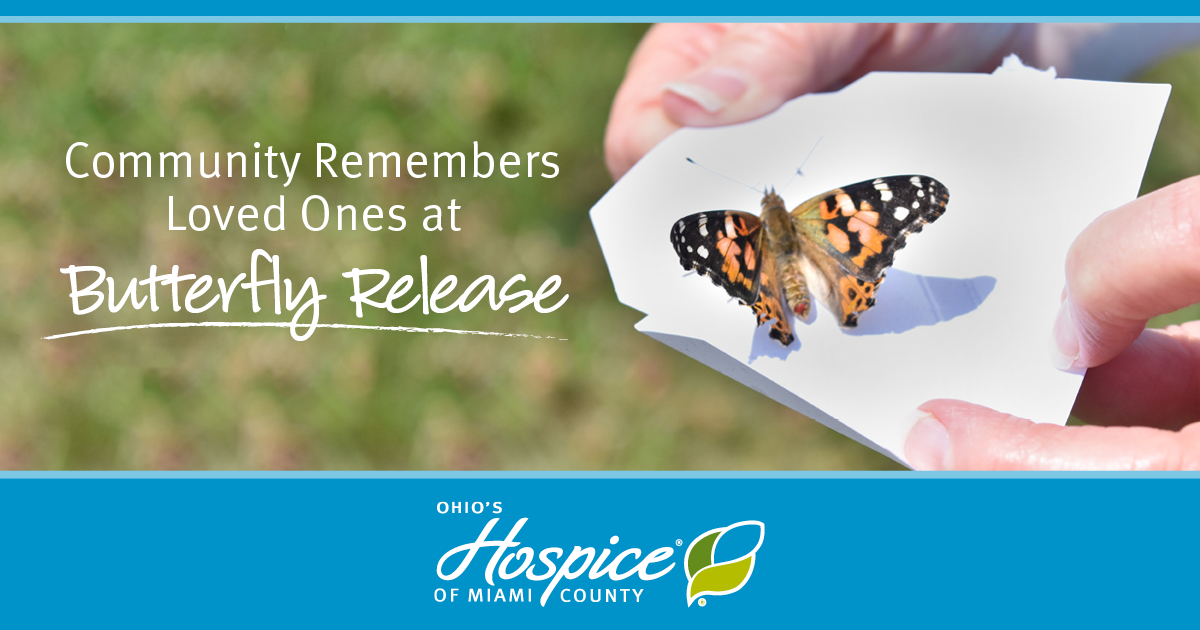 Community Remembers Loved Ones At Butterfly Release - Ohio's Hospice Of Miami County