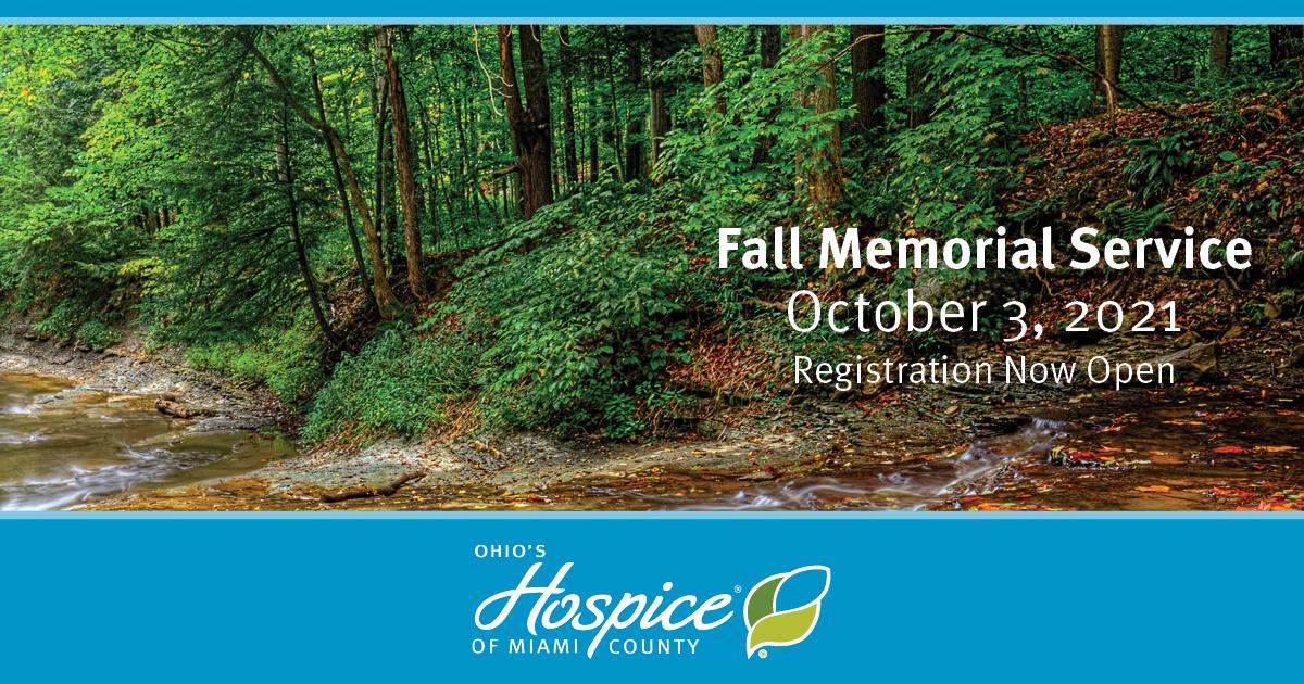 Fall Memorial Service - Ohio's Hospice Of Miami County