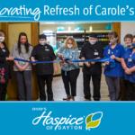 Celebrating Refresh at Carole's Cafe