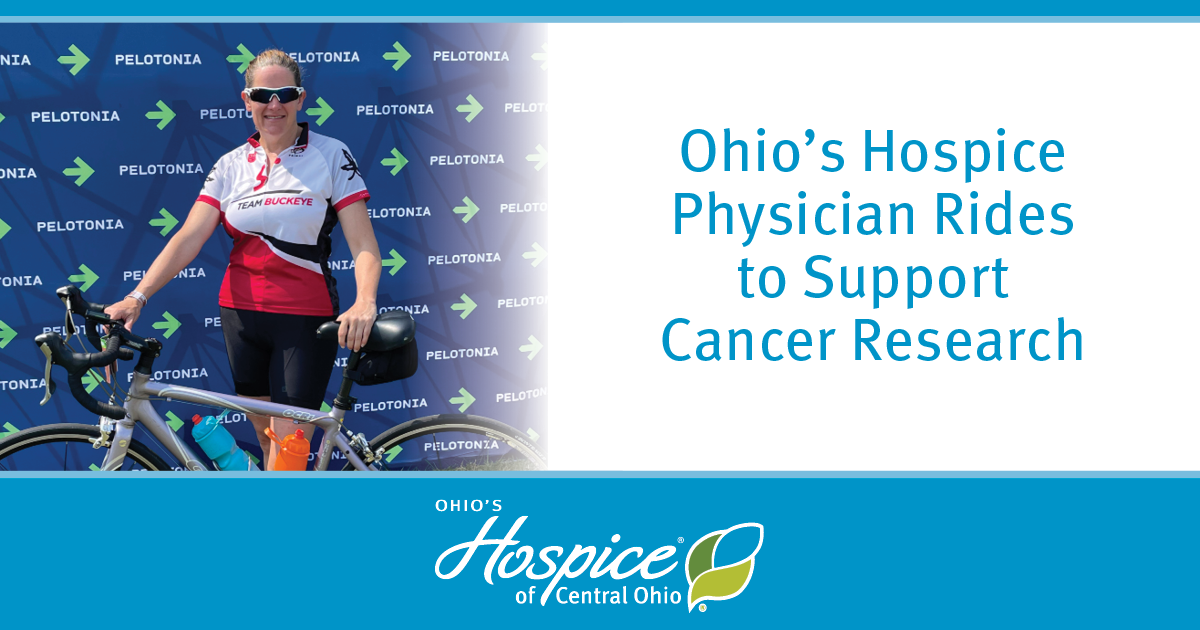 Ohio's Hospice Physician Rides To Support Cancer Research